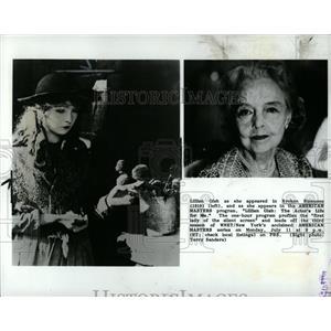 1988 Press Photo Actress Lillian Gish - RRW02927