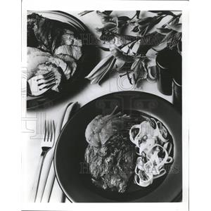 Press Photo Lamb Sirloin Roast - RRW35865