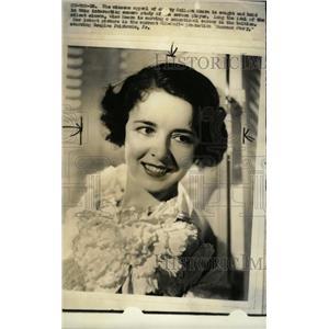 1934 Press Photo Colleen Moore Douglas Fairbonke Player - RRW73993