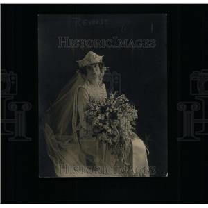 1922 Press Photo Harley j. Hugrie Actress - RRX35021