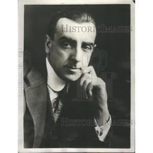 1925 Press Photo Walter Hampden Actor Theater Manager- RSA54903