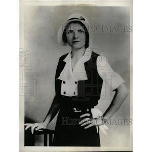 1933 Press Photo Ruth Googies - RRW72969