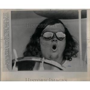 1972 Press Photo Ronnie Jarreld Stone Wedge Rock Miami - RRX52515