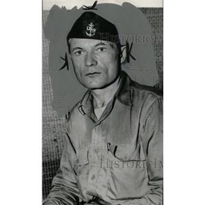 1944 Press Photo George Ray Tweed Radioman US Navy - RRW79211