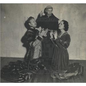 1934 Press Photo Romeo Juliet Opera Cast Promo Picture - RRX83149