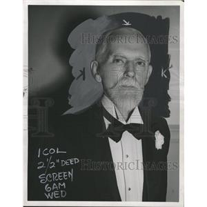 1939 Press Photo John Binns (Actor) - RRW31115