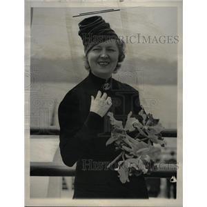 1938 Press Photo Peggy Hopkins Joyce - RRW21951