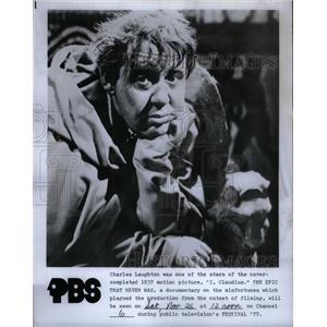 1977 Press Photo I Claudius Still Never Was Documentary - RRX33319