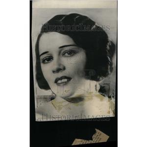 1924 Press Photo Suzanne Bennett Actress Captain Hubert - RRU20753