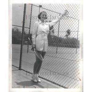 1936 Press Photo Jean Chatburn MGM Contract Actress - RRU07793