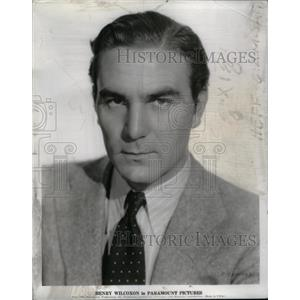 1935 Press Photo Henry Wilcoxon Film Actor - RRX57141