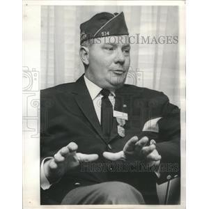 1965 Press Photo National American Legion Commander Donald E. Johnson