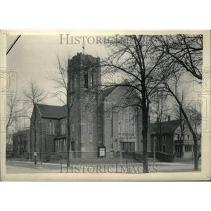 1961 Press Photo Immanuel Lutheran Church Elmhurst Ill - RRU18905