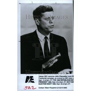 1991 Press Photo John F Kennedy US President Campaign - RRU24207