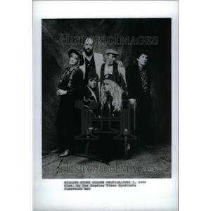1990 Press Photo Fleetwood Mac British Rock Band London - RRU29335