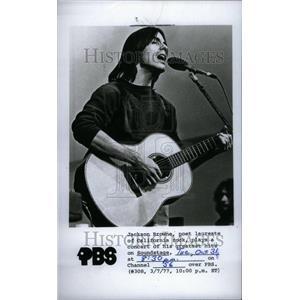 1978 Press Photo Jackson Browne American Rock Singer - RRU29353