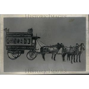 1974 Press Photo Circus Wagon BT Babbitt Soap Wrapper - RRU31095