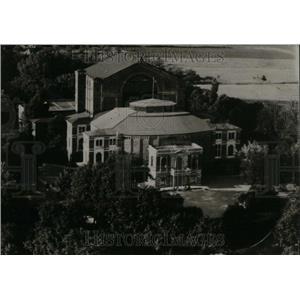 1938 Press Photo Richard Wagner Festspielhaus Bayreuth - RRU31305