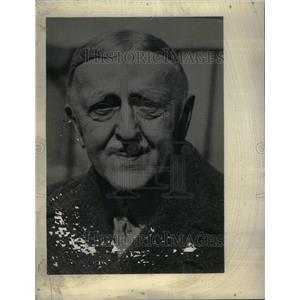 1933 Press Photo William Hartman Woodlin Industrialist - RRU33573