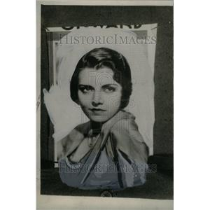 1931 Press Photo Peggy Shannon,actress - RRU34933