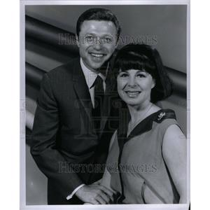1966 Press Photo Eydie Gorme Steve Lawrence singer pop - RRU36113