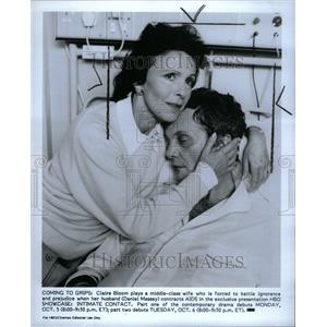 1987 Press Photo Claire Bloom Daniel Massey Actress - RRU36149