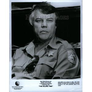 1987 Press Photo The Killing Time Movie Joe Don Baker - RRU36469