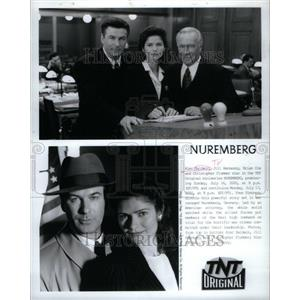 2001 Press Photo Alec Baldwin Nuremberg Hennessy Cox - RRU36481