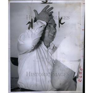 1958 Press Photo BOB HAYWARD CANADIAN POWERBOAT RACER - RRU37723