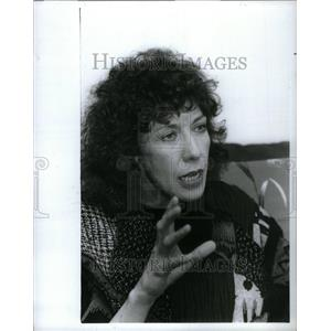 1988 Press Photo Lily Tomlin actress comedienne writer - RRU39465
