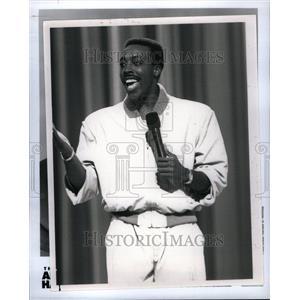 1992 Press Photo Arsenio Hall American Actor Comedian - RRU40171