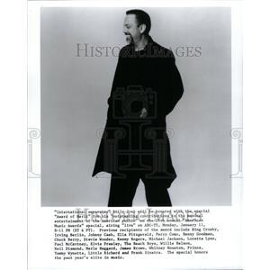 "1999 Press Photo Musician Billy Joel ""Award of Merit"" - RRU40575"