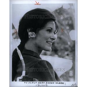 1969 Press Photo Susan Clark Canadian Actress - RRU40675