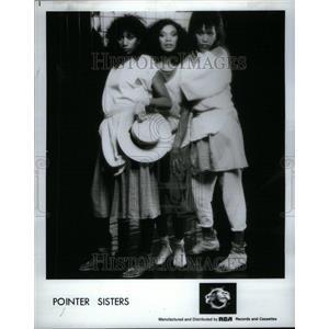 1985 Press Photo Pointer sisters American pop Oakland - RRU42025
