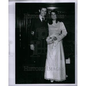1968 Press Photo Edward C. Reynold Jr Wedding - RRU42099