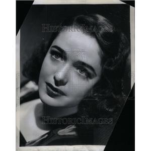 1951 Press Photo Julia Stevens English actress children - RRU42677