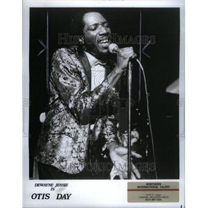 1987 Press Photo DeWayne Jessie American Actor Singer - RRU43559