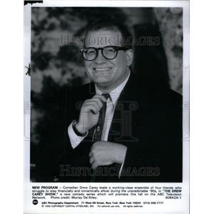 1966 Press Photo Comedian Drew Carey Romantic Class - RRU44027