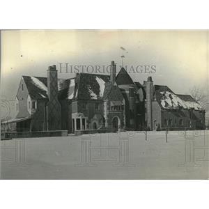 1931 Press Photo House James Grant Lippitt wife avenue - RRV06397
