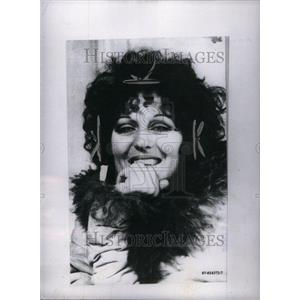 1971 Press Photo Germaine Greer Australian Author Voice - RRU37637