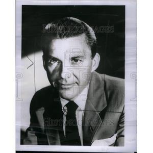 1955 Press Photo David Wayne Actor - RRU26629