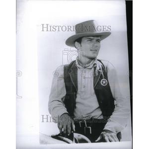 1963 Press Photo Patrick Wayne American Film Actor - RRU34365