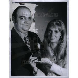 1970 Press Photo Actors James Coco And Blythe Danner - RRU40615