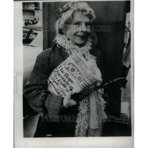 1970 Press Photo Ruth Gordon Jones American Actress - RRU24615