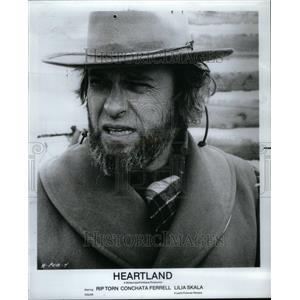 1981 Press Photo Heart land Rip Torn Actor stage screen - RRU41469