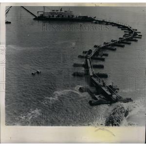 1962 Press Photo Barge Chlorine Mississippi River - RRU28357