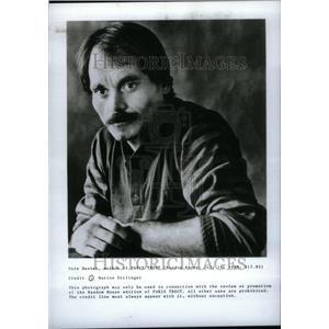 1988 Press Photo Pete Dexter Author - RRU30955