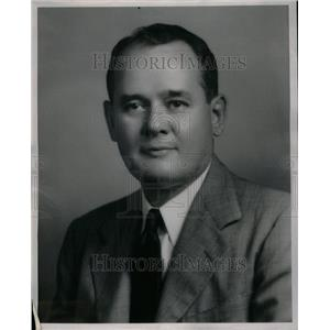 1946 Press Photo Wayne Stettbacher General Manager - RRU42787