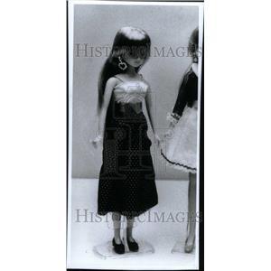 1986 Press Photo Stylesetter Jennie Doll Harajuku Japan - RRU33637