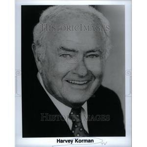 Press Photo Harvey Korman American Comedic Actor Brooks - RRU37763